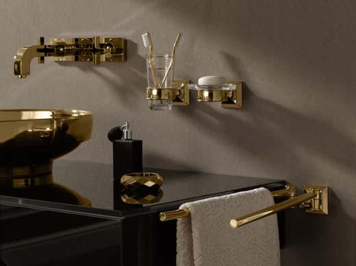 Badkamer Accessoires Goud : Badaccessoires voor hang naar weelde en klassiek bouwenwonen
