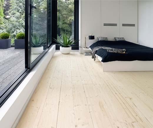 Woontrend houten vloer in scandinavische stijl - Hedendaagse interieurs ...