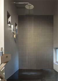 Ontstressen dankzij een badkamer met kurk - Waterafstotend badkamer ...