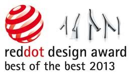 Axor Starck Organic ontvangt Red Dot Best of the Best-award 2013