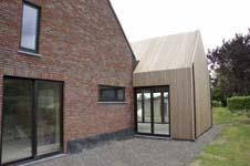 Mhma renovatie en uitbreiding van een woning in hooglede - Architectuur renovatie ...