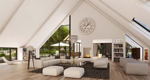 wat is de ideale hoogte van een plafond?
