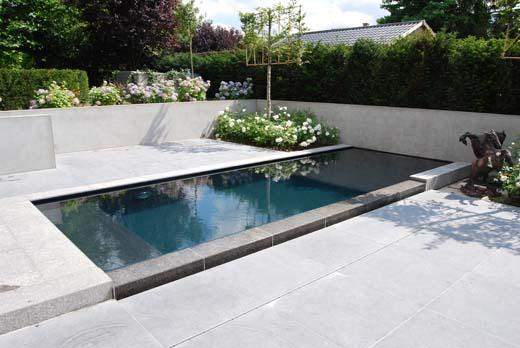 Architectuurwedstrijd rond het thema blauwe steen uit henegouwen - Zwembad terras hout photo ...