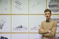 Architectuurprijs naar afstudeerproject van Franky Larousselle