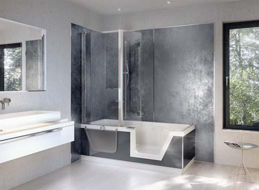 Gepersonaliseerde wandbekleding voor je badkamer - Gemeubleerde salle de bains ontwerp ...
