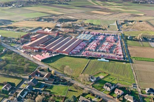 Steenfabrieken Nelissen in Kesselt