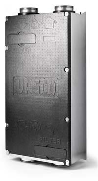 Lichtgewicht Vasco ventilatie-unit D275 ideaal voor compacte woningbouw