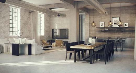 Custom Tiny Living Home together with Readtip besides 50 Three 3 Bedroom Apartmenthouse Plans as well Industrial Loft Design besides Clean Office. on small minimalist lofts