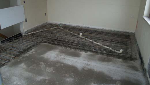 Nieuwe badkamervloer