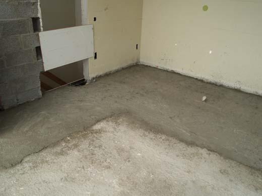 Reconstructie van de badkamervloer (deel 2) - bouwenwonen.net