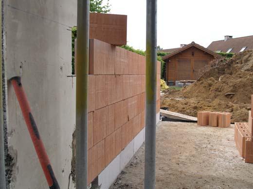 De verbouwing - nieuwe muren