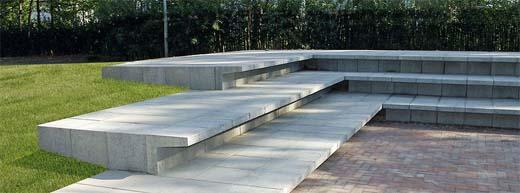 U-elementen van beton