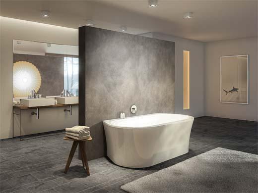Ontmoet badkamerspecialist duscholux op batibouw 2015 - Kleur idee ruimte zen bad ...