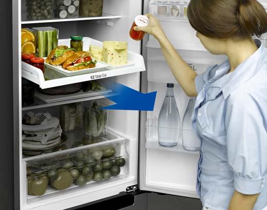 De vrijstaande koelkast, dé keukentrend op Batibouw 2015