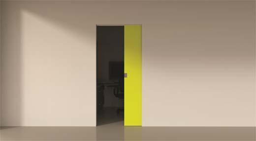 invisidoor SD(X): Unieke onzichtbare aluminium kaders voor schuif-in-de-wand deuren