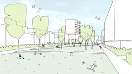 Nieuwe slimme residentiële wijk in hartje Mechelen