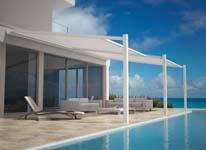 Nieuwe minimalistische terrasoverkapping: Lagune Pure
