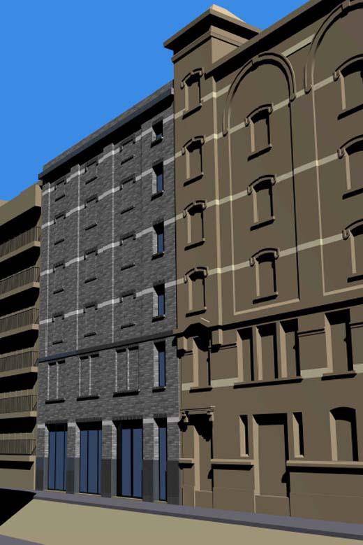 Nieuwe depottoren FotoMuseum - Lieven Gevaerttoren
