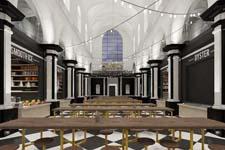 Zo zal de Holy Food Market in Gent er uit zien
