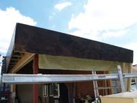 A-typische dakoversteek voor uitbreiding