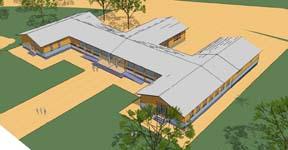 Bouwteam MST bouwt kliniek in Mozambique