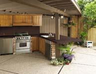 Dekton ideaal keukenblad voor de buitenkeuken