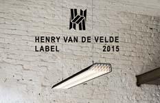 Henry van de Velde-label voor Vaeder