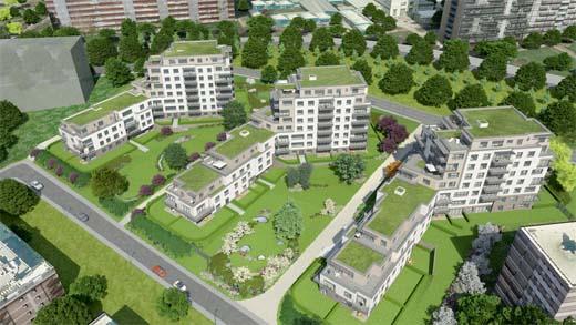 M-Square: aangenaam wonen in een groene stadsomgeving