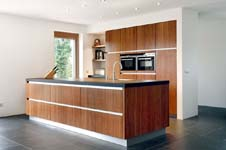 Duurzame keuken van bamboe