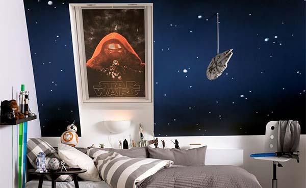 Velux en Disney lanceren Star Wars-kinderkamerdecoratie