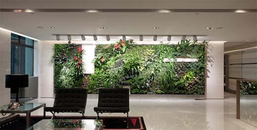 Groen in het Interieur