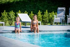 La Plage-zwembad met brede trap in primeur op Batibouw 2016