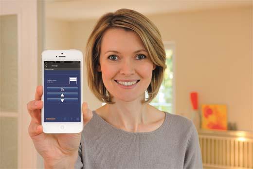 Nieuw op Batibouw 2016: BiSecur Gateway met smartphone-app