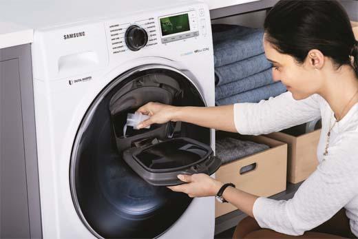 Samsung AddWash: de oplossing voor achtergebleven wasgoed