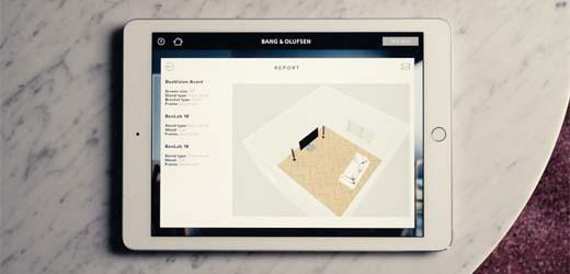 Bang & Olufsen lanceert de BeoHome Design App