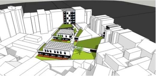 Eerste duurzame cohousingproject in hartje Brussel