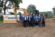 Startschot bouwwerken nieuwe sociale woningen op Rabotsite