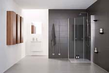Elektrische handdoekdroger voor de badkamer