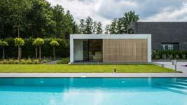 Test een (verwarmd) zwembad in de nieuwe belevingsshowroom