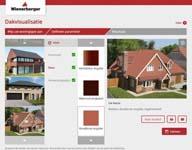 Dakpan uitproberen met online ontwerptool