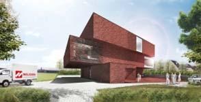 Nelissen Steenfabrieken bouwt nieuw BEN-kantoorgebouw