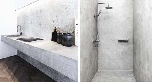 Beton In Badkamer : Ga voor robuust en sterk met een badkamer van beton ciré