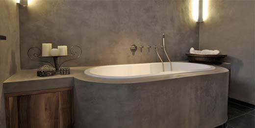 Beton Muur Badkamer : Ga voor robuust en sterk met een badkamer van beton ciré