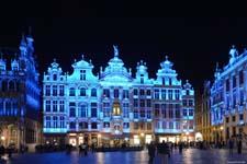Nieuw led-licht voor de Brusselse Grote Markt