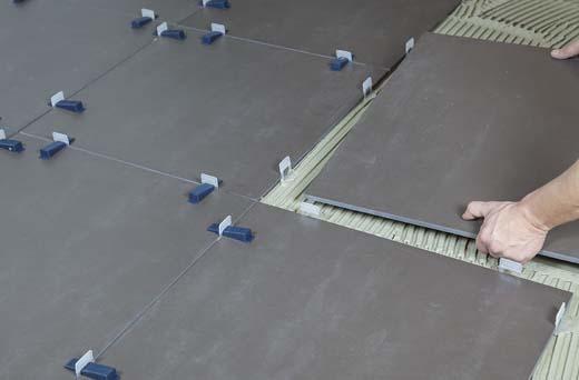 100% gegarandeerd strak en vlak tegelen