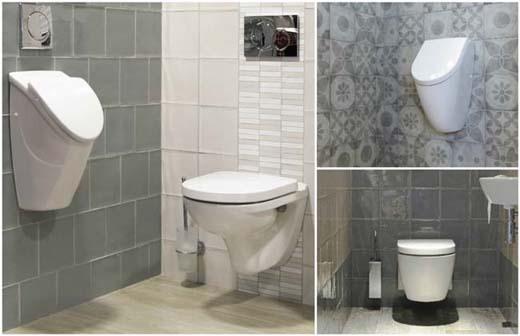 Tegels maken het toilet bouwenwonen