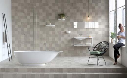 Keramische tegels bepalen sfeer badkamer | bouwenwonen.net