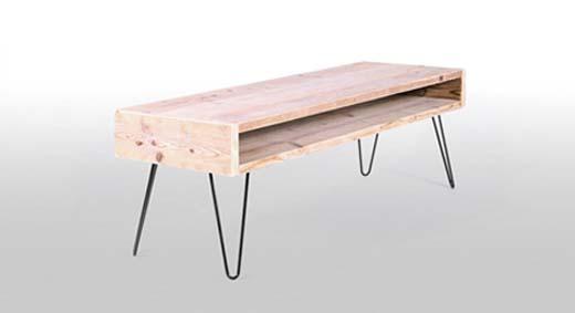 Je woonkamer met steigerhout inrichten - bouwenwonen.net