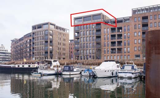 Uniek luxe-penthouse te koop aan Hasseltse jachthaven