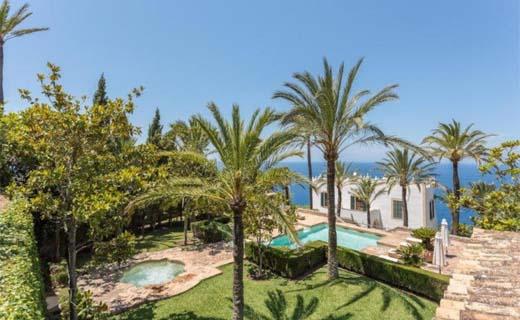 Buitenverblijf van Michael Douglas op Mallorca te koop
